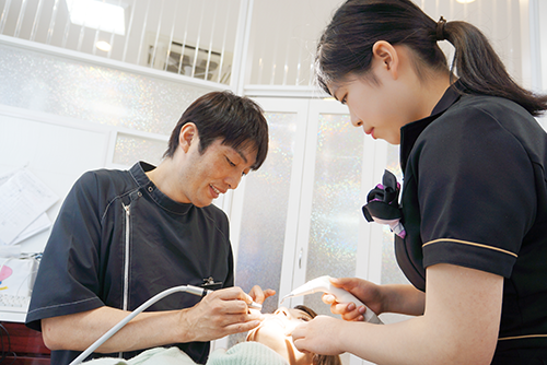 STEP1. 治療前の口腔診断